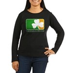Irish Drinking League Women's Long Sleeve Dark T-S