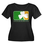 Irish Drinking League Women's Plus Size Scoop Neck