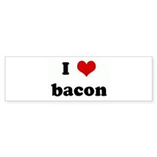 I Love bacon Bumper Sticker (50 pk)