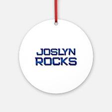 joslyn rocks Ornament (Round)