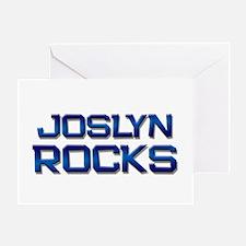 joslyn rocks Greeting Card