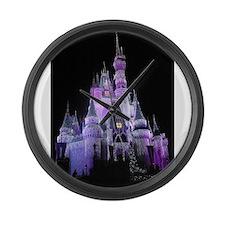 Cute Castles Large Wall Clock