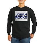 josiah rocks Long Sleeve Dark T-Shirt