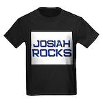 josiah rocks Kids Dark T-Shirt