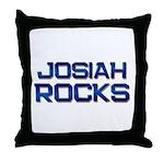 josiah rocks Throw Pillow