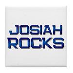 josiah rocks Tile Coaster