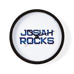 josiah rocks Wall Clock