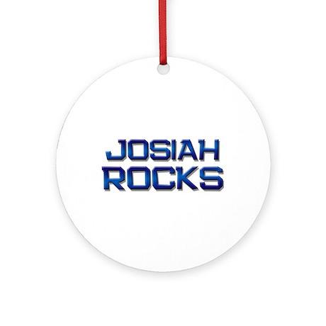 josiah rocks Ornament (Round)