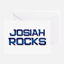 josiah rocks Greeting Card