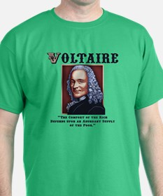 Voltaire Needs the Poor T-Shirt
