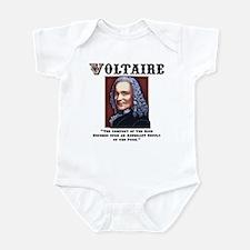 Voltaire Needs the Poor Infant Bodysuit