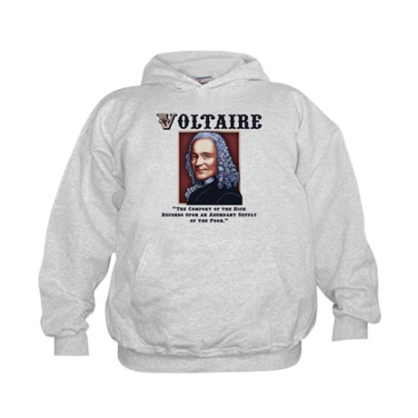 Voltaire Needs the Poor Kids Hoodie