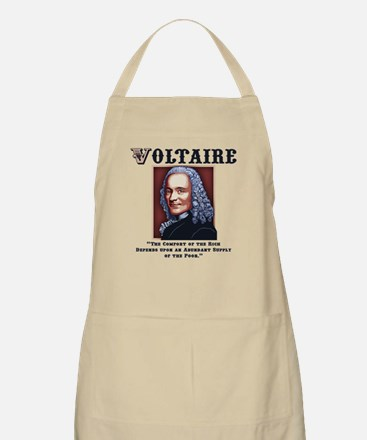 Voltaire Needs the Poor Apron