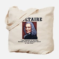Voltaire Needs the Poor Tote Bag