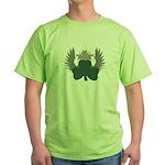 Winged Shamrock Green T-Shirt