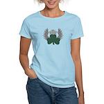 Winged Shamrock Women's Light T-Shirt
