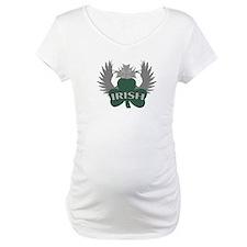 Irish Shamrock Celtic Cross Shirt
