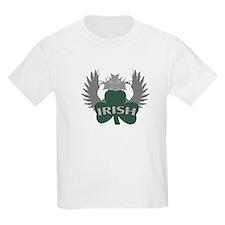 Irish Shamrock Celtic Cross T-Shirt
