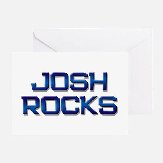 josh rocks Greeting Card