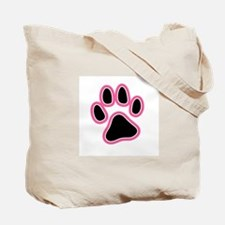 famous chihuahua pink tote bag