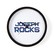 joseph rocks Wall Clock