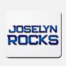 joselyn rocks Mousepad