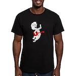 Kokopelli Guitar Men's Fitted T-Shirt (dark)