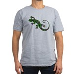 Ivy Green Gecko Men's Fitted T-Shirt (dark)