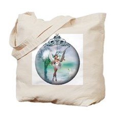 Swan Lake Globe Tote Bag