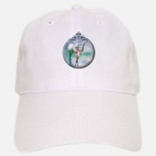 Swan Lake Globe Baseball Baseball Cap