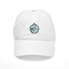 Swan Lake Globe Baseball Cap