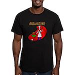 Grillmaster Men's Fitted T-Shirt (dark)