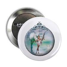 "Swan Lake Globe 2.25"" Button (10 pack)"