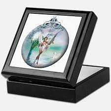 Swan Lake Globe Keepsake Box