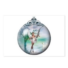 Swan Lake Globe Postcards (Package of 8)