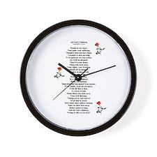 All God's Children Wall Clock