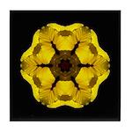 Yellow Pansy I Tile Coaster
