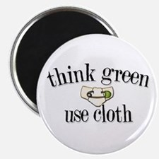 """Think Green 2.25"""" Magnet (10 pack)"""