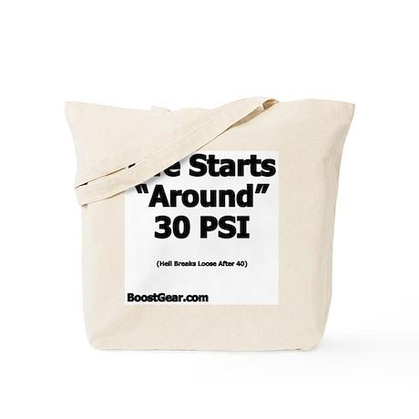 Life Starts Around - Nemesis Racing - Tote Bag