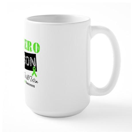Lymphoma Hero Son Large Mug