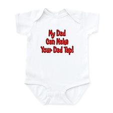 Make Your Dad Tap! Onesie
