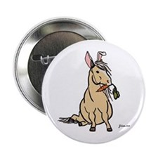 """Easter Pony 2.25"""" Button"""