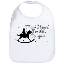 Thank Heaven For Lil' Cowgirl Bib