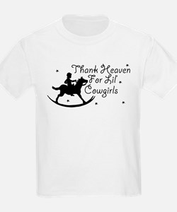 Thank Heaven For Lil' Cowgirl T-Shirt