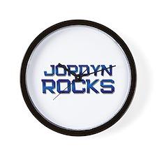jordyn rocks Wall Clock