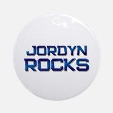 jordyn rocks Ornament (Round)