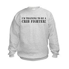 I'm Training to be a Crib Fig Sweatshirt