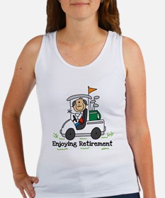 Retired and Golfing Women's Tank Top