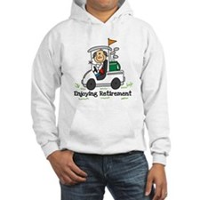 Retired and Golfing Hoodie