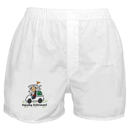 Retired and Golfing Boxer Shorts